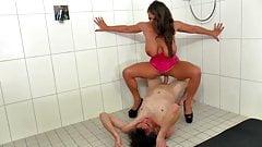 German MILF Big Tits Piss Sex