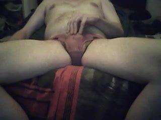 Ginger Bottom Cums Via Ohmibod