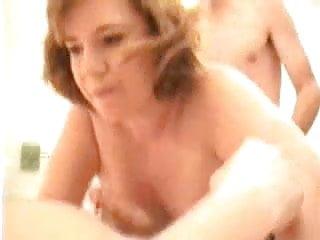 Amateur - Redhead Dawn's Bachelor Party Gangbang - Full Movi