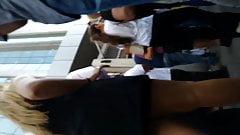 Ups #09 - Calcinha da loira gostosa
