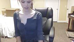 Brunette Teen Makes Herself Cum