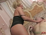 CarloJones Hot short haired blonde angel earns her wings