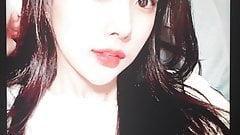 Izone Kang Hyewon cumtribute