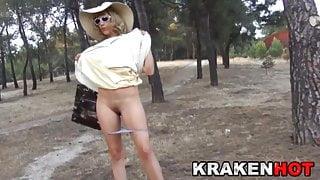 Provocative Milf Voyeur Public Nudity Outdoor
