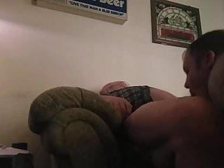 blowing daddy bear