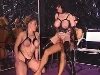 Retro 90's Vintage German Mature Big Boobs Latex 2: Porn 08