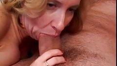 Blonde slut gets her pussy pounded