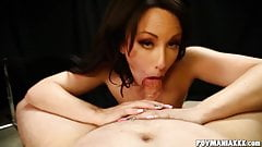 Dirty Jennifer White Sucks Cock
