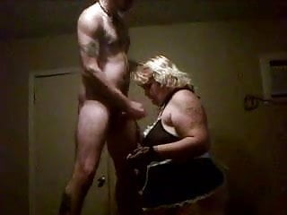 milf sucking young guy cock inmotel