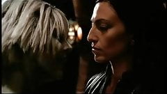 Gigi Edgley and Claudia Black hot scene