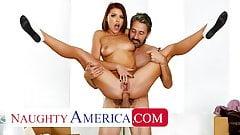 Naughty America - friend's dad anal fucks Adriana Chechik