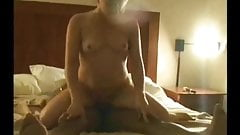 Hot cuckold wife black breeding in front of hubby