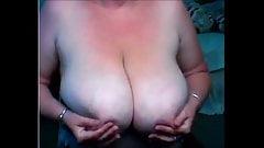 Amateur  tanlines  fat boobs