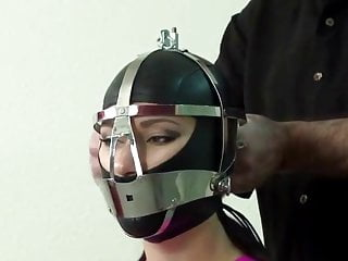 Slave girl fucked by machine