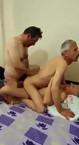 naked Turkish daddy sex