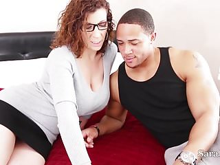 Busty Tutor Sara Jay Fucks Her Big Student for Extra Credit!