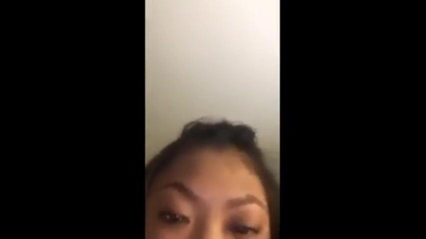 asian and white dorm fuck