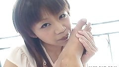 Asian precious teen getting her pussy eaten out
