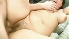 Hairy bbw takes da dick
