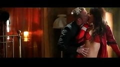 Sensual foreplay with classy couples
