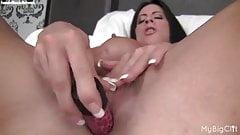 Angela Salvagno Masturbates