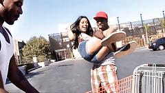 Kimberly Gates Interracial Threesome's Thumb