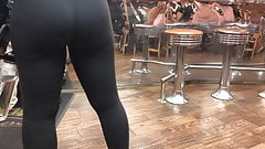 Felicia's Hot Athletic Booty - Candid Ass