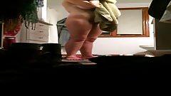 Roommate in hidden camera