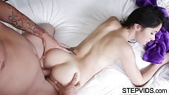 Beautiful Taylor Reed gets fucked by stepbro