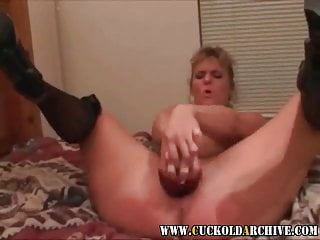 Cuckold Archive Sissy enjoys watching his wife with BBC bull