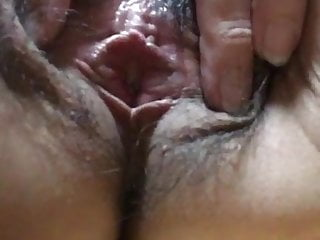 A japanese Mature shows me her experienced pussy.