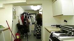 Nervous British teen candid porn casting