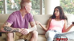 Hot Jade Jantzen learns about the respect the hard way