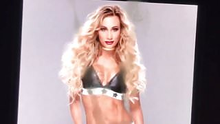 Cum tribute to WWE Carmella
