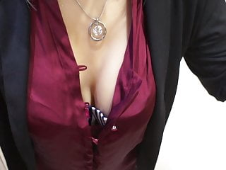 Would you cum over my tits?