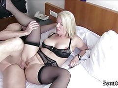 German MILF Caught Young Boy and Seduce him to Fuck