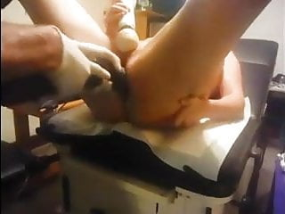 Anal Torture In Gyno Chair