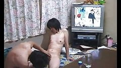 Japanese sex life of an ordinary couple