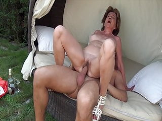 Grandma sucks my dick