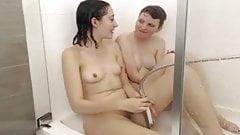 Amateur Lesbian Shower part b