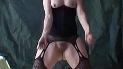 Masked milf Suzy her pussy is yours to see