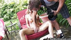 RealMomExposed - Kristal Summer just gets too horny posing f