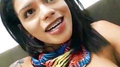 Cute smiling latina big cock tgirl cumshot Online