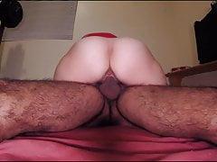 Hairy amateur MILF wife fucking experienced pleasure
