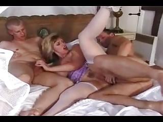 Amateur - Big Naturals DP Mature CIM MMF Threesome