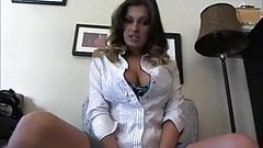 Jerkoff Instruction with Hot Lady and Countdown