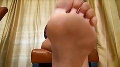 Blonde FemDom Foot Fetish