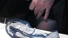 Cum on panties