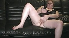67 year old Granny Gerri playing with her pussy