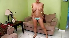 Hottie in a bikini. JOI